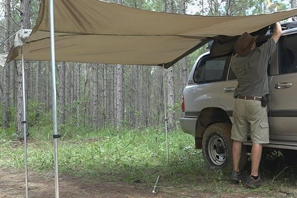 Bag Awning Ute 4wd Removable